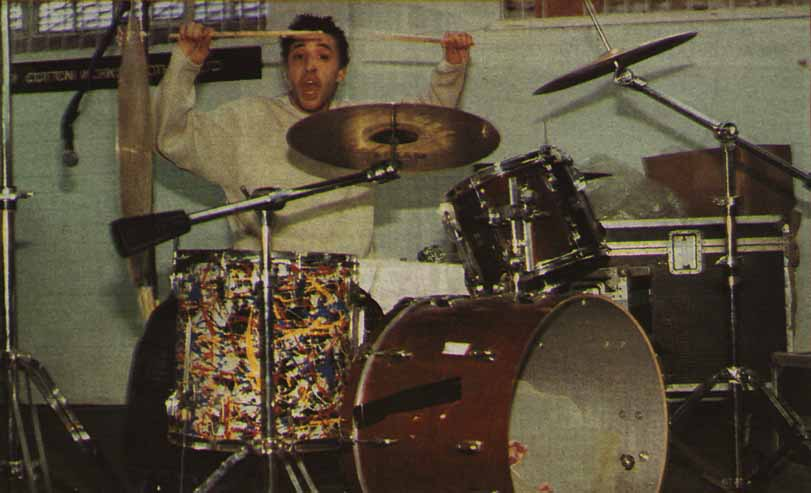 Reni On The Drums